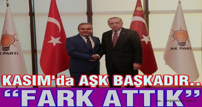 AKP İl başkanı Tomakin, 16 yılı değerlendirdi.