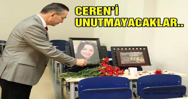 Ceren Özdemir'in ismi Fakültesinde yaşatılacak..