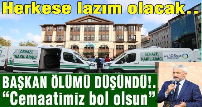 10 ADET YENİ CENAZE ARACI ALDI GELDİ..