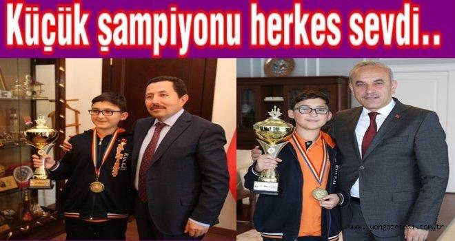 13 Yaşında satrançta dünya birincisi oldu..