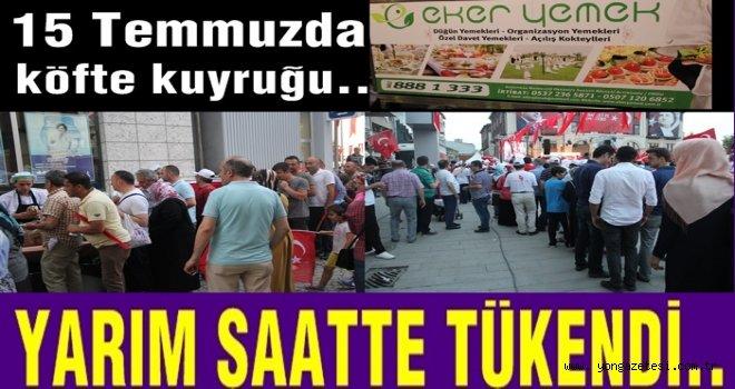15 Temmuzda vatandaşlar meydanlara indi..