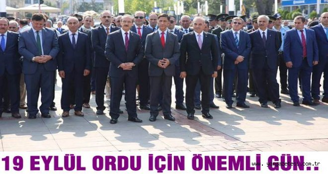 19 Eylül Atatürk'ün Ordu'ya ayak bastığı gün..