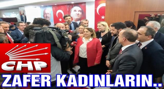 CHP'de Yelda Dalak İlçe başkanı oldu..