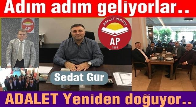 ADALET PARTİSİ İL BAŞKANLIĞINA ATANDI..