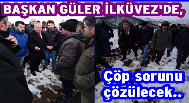 Başkan Güler, İlküvez halkı ile anlaştı..