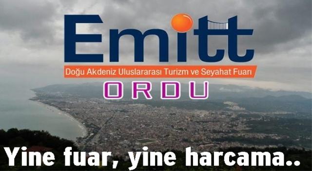 BÜYÜKŞEHİR BELEDİYESİ EMITT FUARINA KATILACAK..
