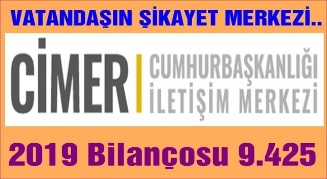 CİMER'E yapılan şikayetler artmaya başladı..