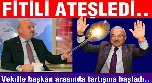 Milletvekili Metin Gündoğdu Enver Yılmaz'ı mumla arıyor..