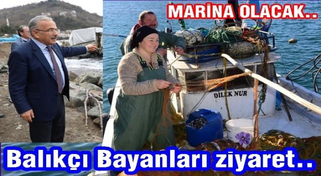 Perşembe'nin Balıkçı kadınları meydan okuyor..