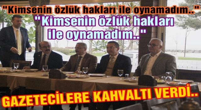 Rektör Akdoğan, Yerel Basın Mensupları ile buluştu..