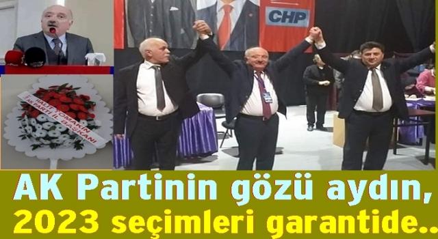 CHP'de Devler yarışını AKP'li Av. Atila Şahin kazandı..