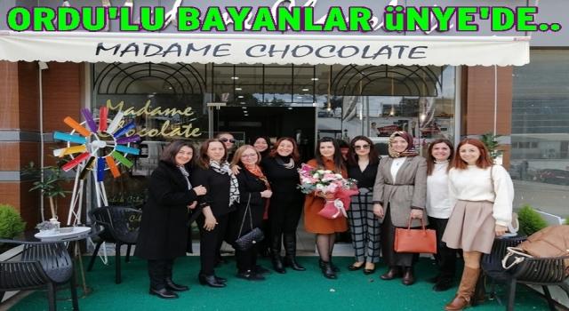 Ordu kadın girişimciler kurulu Ünye'de toplandı..