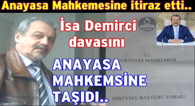 Gazeteci Osman Şahin Anayasa Mahkemesine başvurdu..