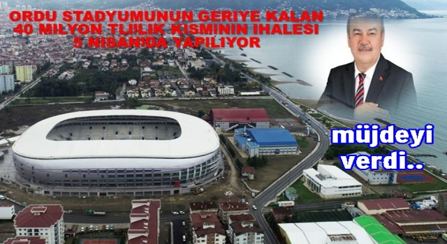 HALİT TOMAKİN, ANKARA'DAN MÜJDELİ HABERLE DÖNDÜ..