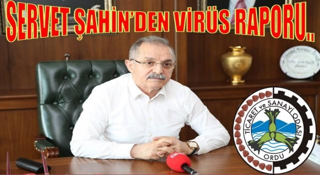 OTSO Başkanı Servet Şahin Odalar Birliğine rapor sundu..