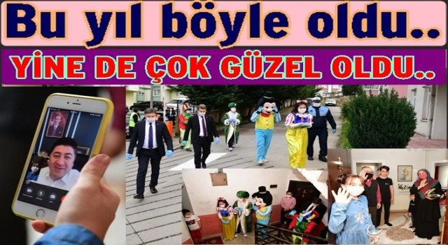Altınordu Belediyesi 23 Nisan şenliklerini evlere taşıdı..