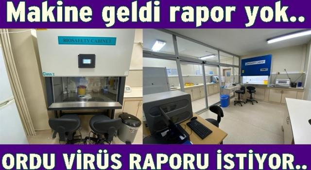 Hayırsever iş adamları Real-Time PCR cihazı aldı..