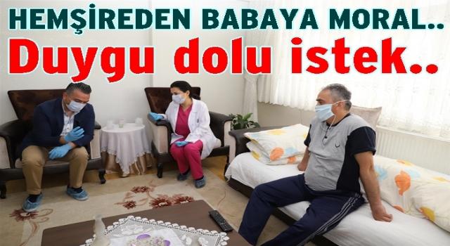 İstanbul'dan Ordu'lu babasına sağlık dilekçesi gönderdi..
