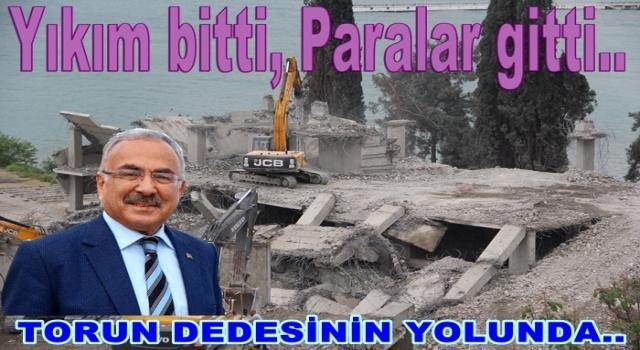 BELDE EVLERİ YIKIMINDA SONA GELİNDİ..