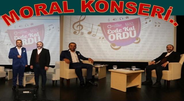 """""""EVDE KAL ORDU"""" moral konserinin ikincisi düzenlendi.."""