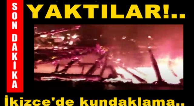 EVİ, İŞ MAKİNESİ VE AHIRI KUNDAKLANDI..