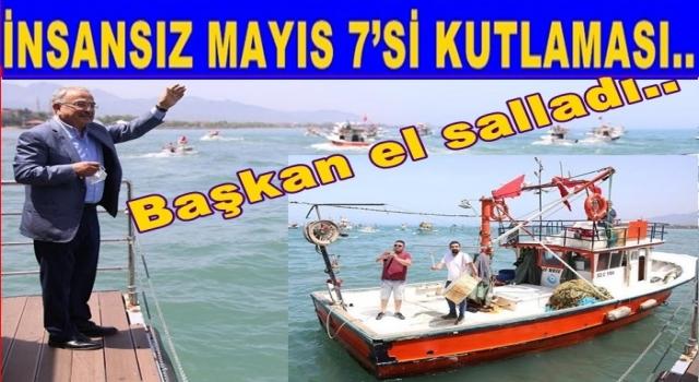 Mayıs yedisi Corona nedeniyle boş teknelerle kutlandı ..