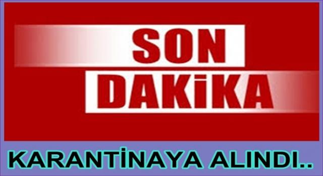 ORDU'DA BİR MAHALLE KARANTİNAYA ALINDI..