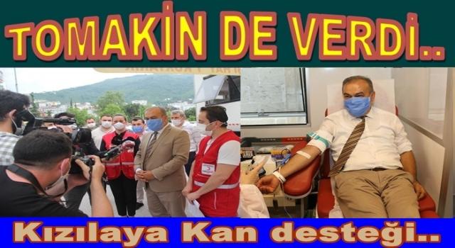 AKP'li Başkanlardan Kızılaya KAN desteği..