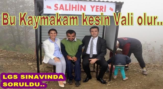 """GÜRGENTEPE'Lİ """"SALİHİN YERİ"""" SINAV SORUSU OLDU.."""