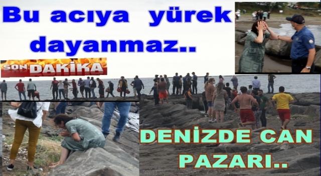 KUMBAŞINDA DENİZDE BİR ÇOCUK BOĞULDU..