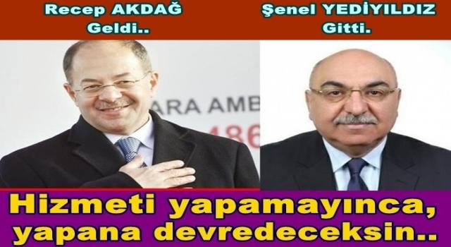 ORDU'NUN ENİŞTESİNE YENİ GÖREV..