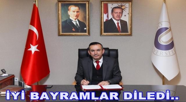 Rektör Prof. Dr. Ali Akdoğan'ın Kurban Bayramı Kutlama Mesajı