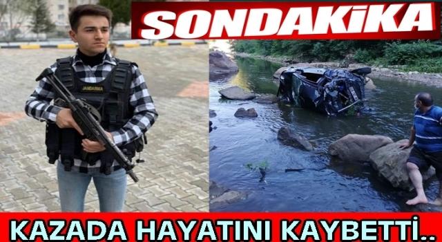 Ordu'ya izine gelen uzman onbaşı kazada hayatını kaybetti..