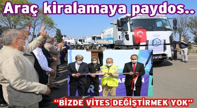 """Başkan Hilmi Güler, """"Direk kaleye oynayan takımız"""""""