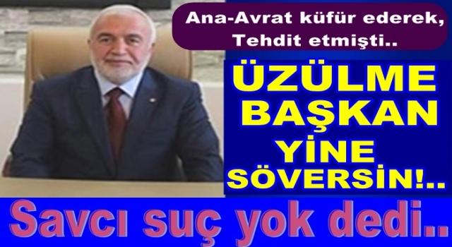 Başkan Yaşar Şahin'le ilgili haberimiz suç teşkil etmedi..