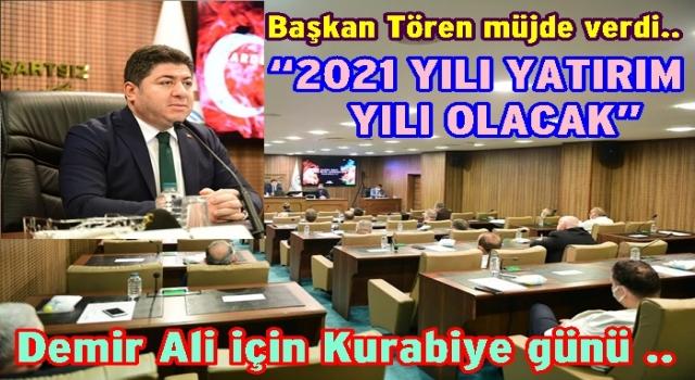 2021 yılı bütçesi 198 milyon 500 bin lira..