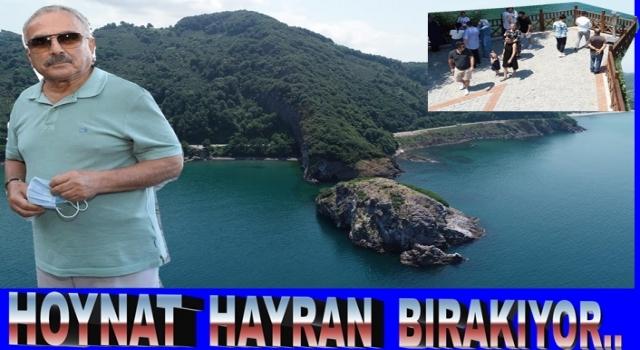HOYNAT adası Perşembe'nin simgesi oldu..