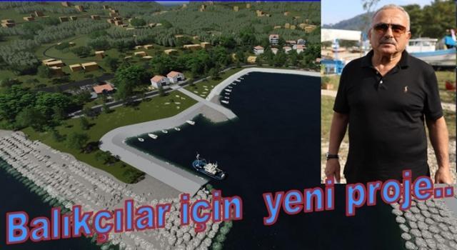 Perşembe Mersin balıkçı barınağı böyle olacak..