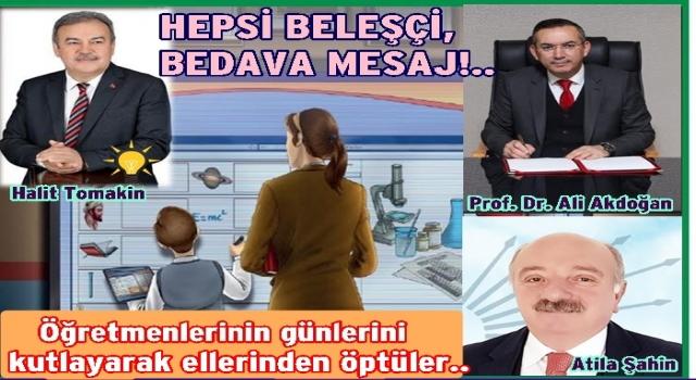 AKP İl başkanı Öğretmenler gününde ATATÜRK'ten hiç söz etmedi..