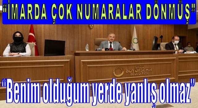 Başkan Güler, Meclis gündem toplantısında konuştu.