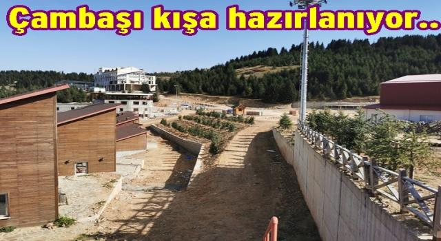 ÇAMBAŞI KAYAK TESİSLERİ KIŞA HAZIR..