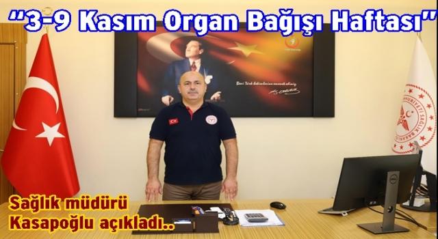 Hayat kurtarmak için Organ bağışı yapınız..