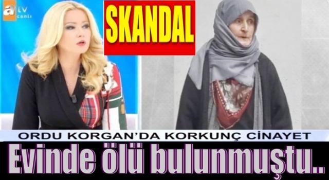 MÜGE ANLI KORGAN CİNAYETİNE EL ATTI..