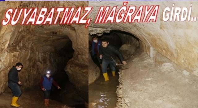 Yaz konağı mağarası turizme kazandırılacak.