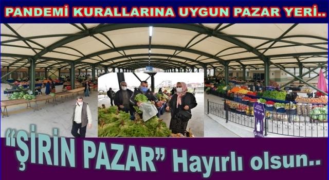 Altınordu'da modern ve en büyük pazar hizmete açıldı..