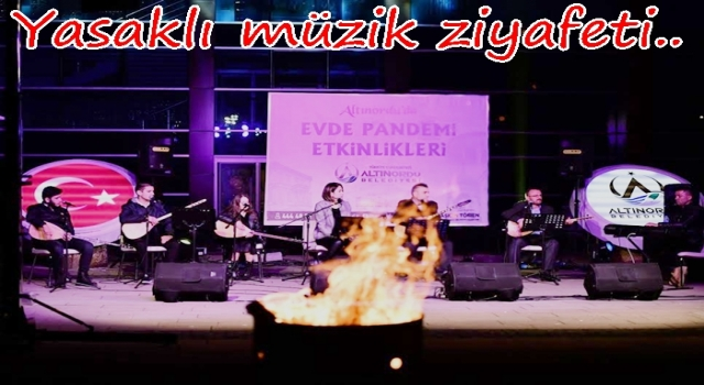 BELEDİYELERDEN VUR PATLASIN, ÇAL OYNASIN..