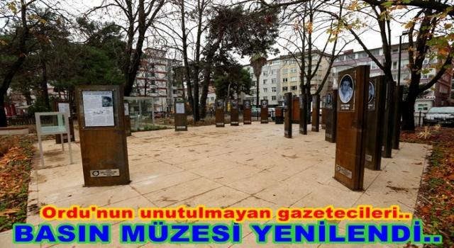 BİLAL KÖYDEN BASIN MÜZESİ YENİLENDİ..