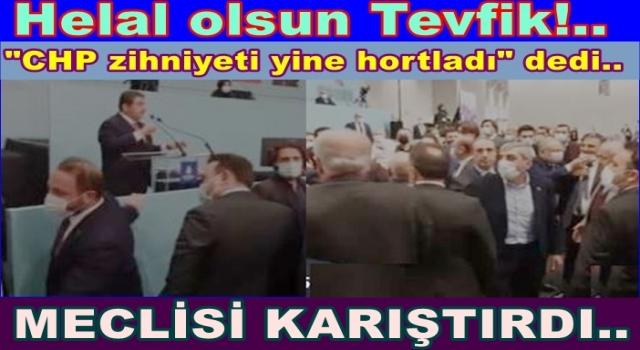 CHP'liler Belediye meclis oturumunu terk etti.