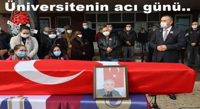 Prof. Dr. Cemil Yapar son yolculuğuna uğurlandı..
