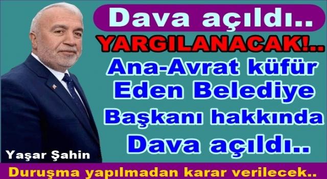 Savcı Yaşar Şahin hakkındaki iddianameyi Mahkemeye sundu..